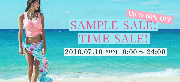 TIMESALE!! SAMPLE SALE!!
